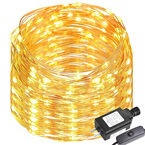 LE 65ft LED String Lights, 200 LED, Copper Wire