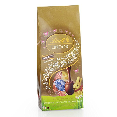 $42.84 Lindor Milk Chocolate, Assorted Mini Egg Bag, 4.4 Ounce