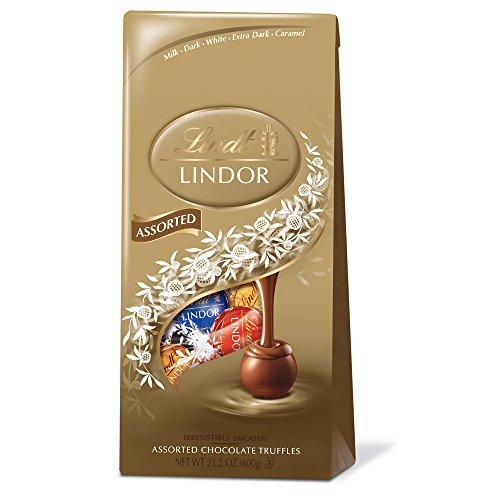 $14.16 Lindor Assorted Chocolate Truffles, 21.2 Ounce
