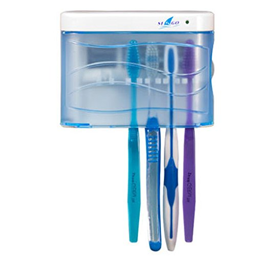 Linsam UV Sanitizer Toothbrush Sanitizer Wall Mounted Toothbrush Holder