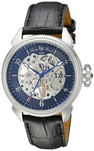 $118.56 Lucien Piccard Men's LP-40052M-01 Trevi Analog-Display Mechanical Hand-Wind Black