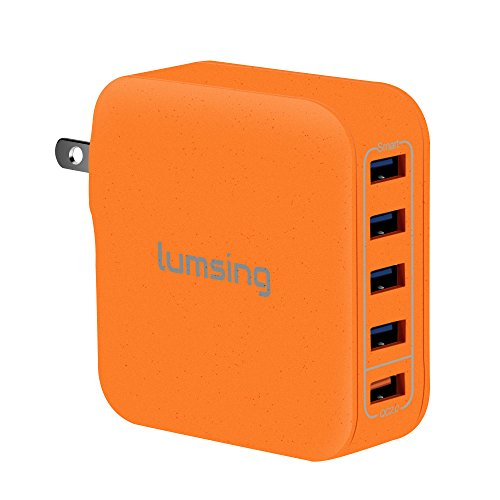 Lumsing Quick Charge 2.0 40W Multi-Port USB Wall Charger
