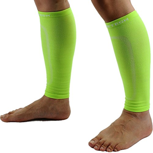 Calf Compression Sleeves (Pair) L/XL Volt