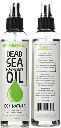 Magnesium Oil Spray 100% Pure From the Dead Sea