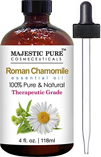 Chamomile Essential Oil From Majestic Pure, 4 Fl. Oz