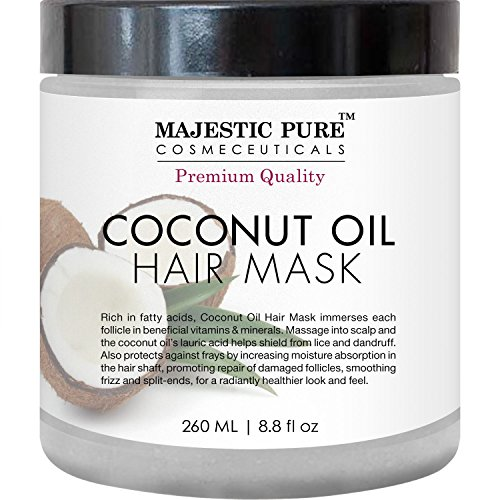 Coconut Oil Hair Mask From Majestic Pure Offers Natural
