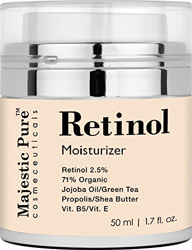 Retinol Cream From Majestic Pure for Face and Eye