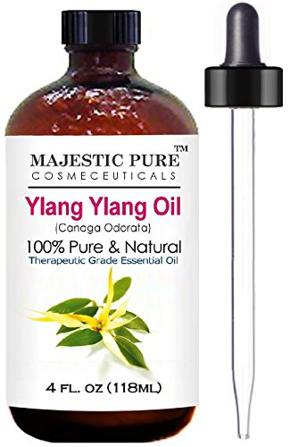Majestic Pure Ylang Ylang (Cananga Odorata) Therapeutic Grade Essential