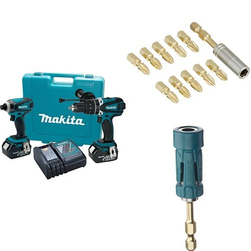 Makita XT218 18V LXT Lithium-Ion Cordless 2-Piece Combo Kit