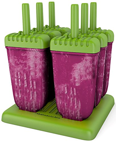 Popsicle Molds Ice Pop Maker Tupperware Quality 6 Pieces