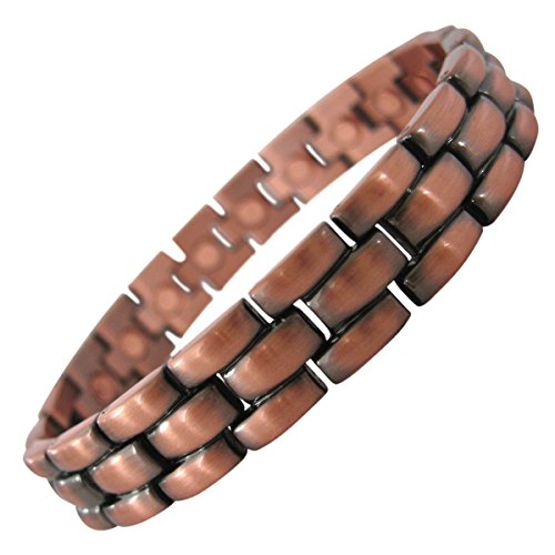 STYLISH COPPER COLORED MAGNETIC BRACELET FOR MEN OR WOMEN