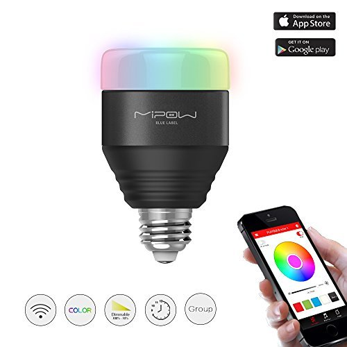 MIPOW E26 Bluetooth Smart LED Light Bulbs APP Group