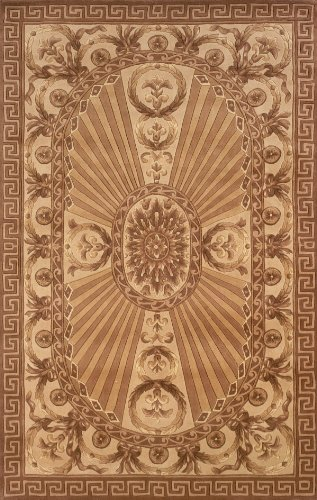 $475.15 Momeni Rugs HARMOHA-15LBN5080 Harmony Collection, Traditional Area Rug, 5'