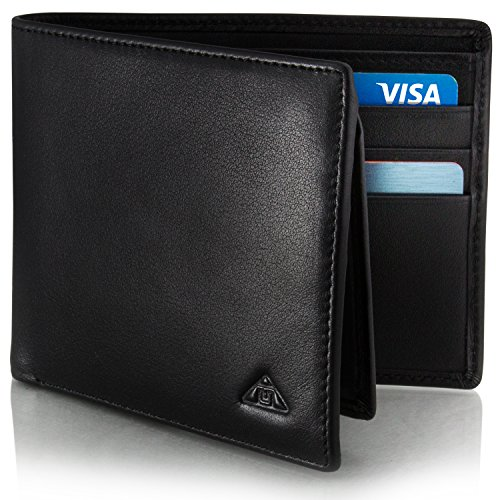Motion Trend Men's RFID Wallet - Leather RFID Security
