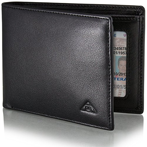 Motion Trend Men\'s RFID Wallet - Leather RFID Security