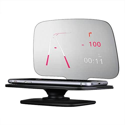 Mpow Universal Head Up Display,Car GPS HUD with Overspeed