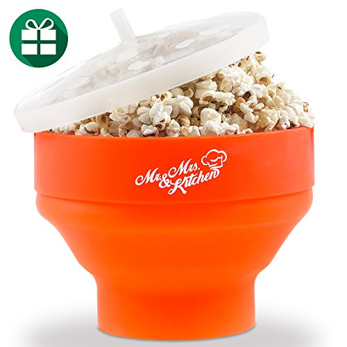 Mr.Mrs.Kitchen Silicone Popcorn Maker – The Best Microwave Popcorn