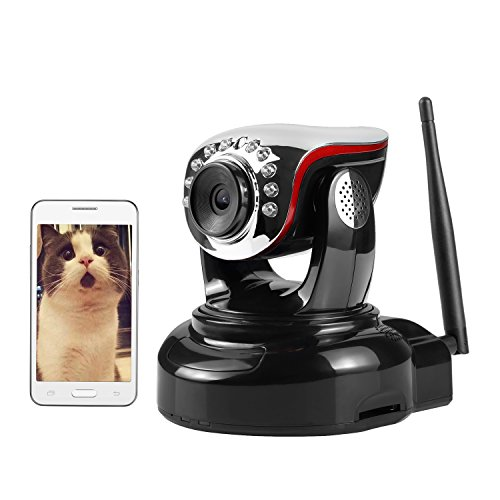 Wireless IP Camera, Nexgadget 720P WiFi Security Camera with