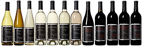 Naked Winery Dirty Dozen Wine Mixed Case, 12 x