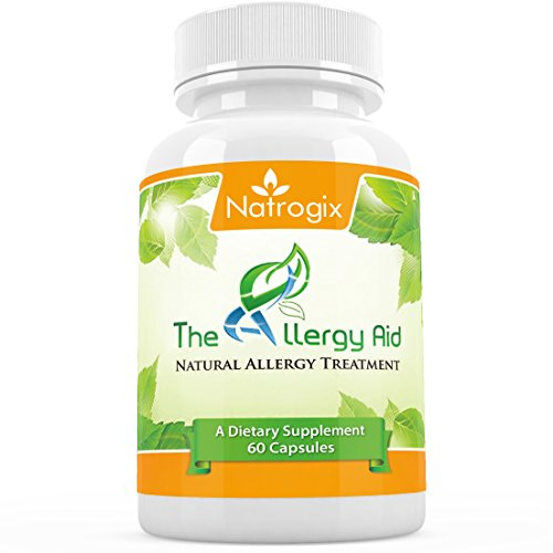 Natrogix Potent Allergy Relief Supplement - Natural Allergy Formula
