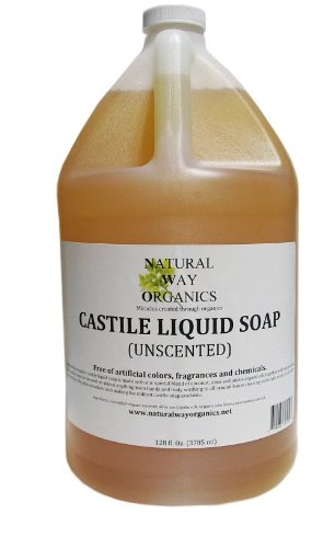 Natural Way Organics Ultra Mild Unscented Castile Soap for