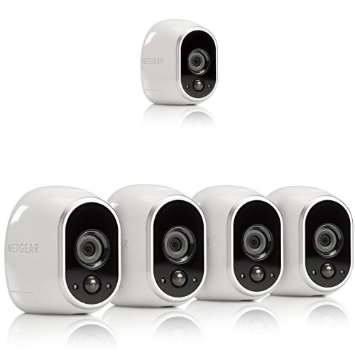 Arlo Smart Home Security Camera System - Five-Camera Bundle