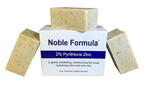 Noble Formula 2% Pyrithione Zinc (Znp) Bar Soap 3
