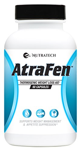 Nutratech Atrafen Powerful Fat Burner and Appetite Suppressant Diet