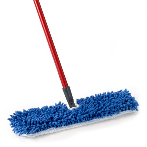 O-Cedar Dual Action Microfiber Flip Mop Damp/Dry All Surface