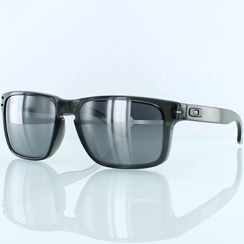 Oakley Holbrook Grey Smoke/Black Iridium Lens Sunglasses