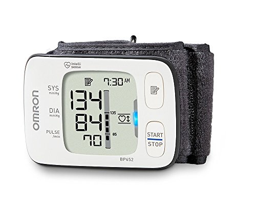 $39.99 Omron 7 Series UltraSilent Wrist Blood Pressure Monitor