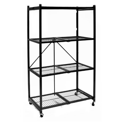 $139.99 Origami R5-01W General Purpose 4-Shelf Steel Collapsible Storage Rack