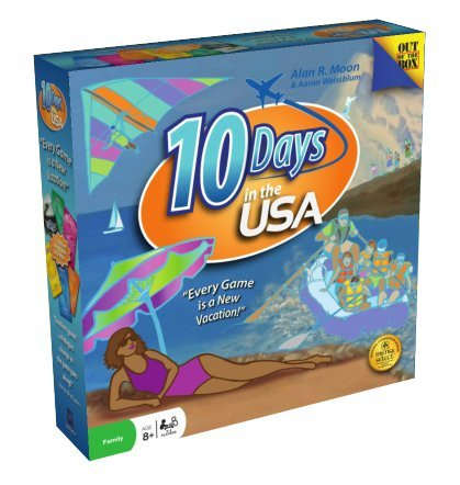 $14.82 10 Days In The USA Board Game