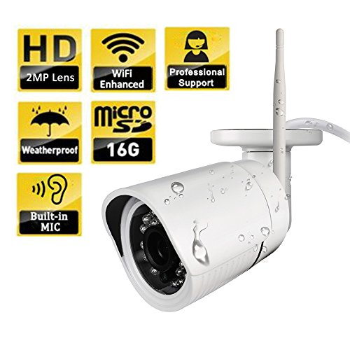 Ouvis C2 HD Waterproof WiFi Outdoor Wireless Security Camera