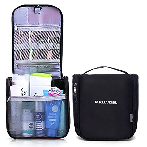 P.KU.VDSL® Hanging Toiletry Bag Multifunction Waterproof Travel Storage Makeup