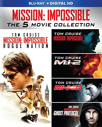 Mission: Impossible – The 5 Movie Collection [Blu-ray]