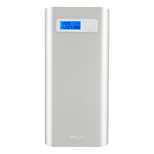 $34.99 PNY AD20800 20800mAh 1A/1A/2.1A/2.4A Power Pack, Silver (P-B-20800-48-S02-RB)