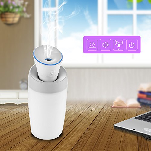 Mini Humidifier, Pandawill USB Portable Cool Mist Water Humidifier