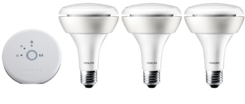 Philips BR-30 Hue Starter Pack Bonus Kit,1st Generation (Certifed