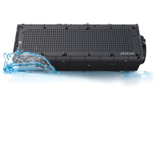 $39.95 Photive HYDRA Waterproof Wireless Bluetooth Speaker.  Rugged Shockproof