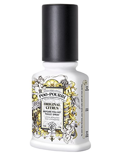 $7.79 Poo-Pourri Before-You-Go Toilet Spray 2-Ounce Bottle, Original Scent