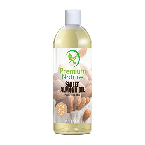 Sweet Almond Oil Natural Carrier Oil - 16 oz