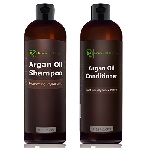 Argan Oil Shampoo and Conditioner Set - ( 2x