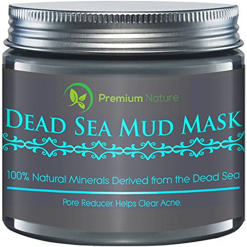 Dead Sea Mud Mask(8.8 oz), Melts Cellulite, Treats Acne