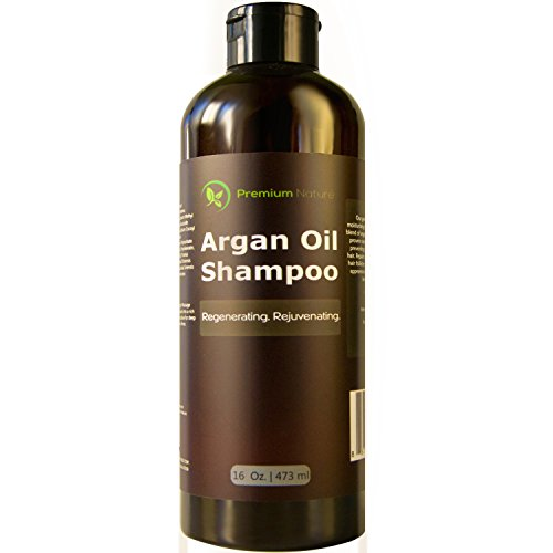 Argan Oil Daily Shampoo 16 oz, All Organic, Rejuvenates
