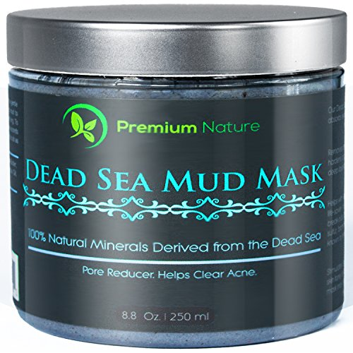 Dead Sea Mud Mask 8 oz, Melts Cellulite, Treats