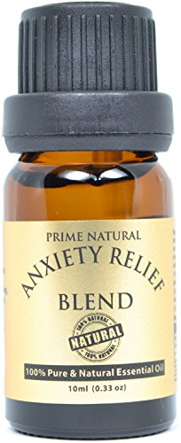 Anxiety Relief Essential Oil Blend 10ml - 100% Natural