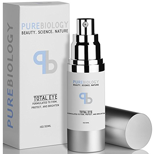 "Pure Biology ""Total Eye"" Anti Aging Eye Cream Infused"
