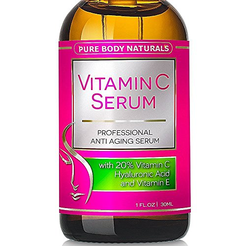 Vitamin C Serum Professional Topical Facial Skin Care Helps
