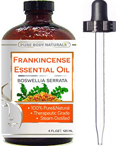 Pure Body Naturals Frankincense Essential Oil - 4 oz